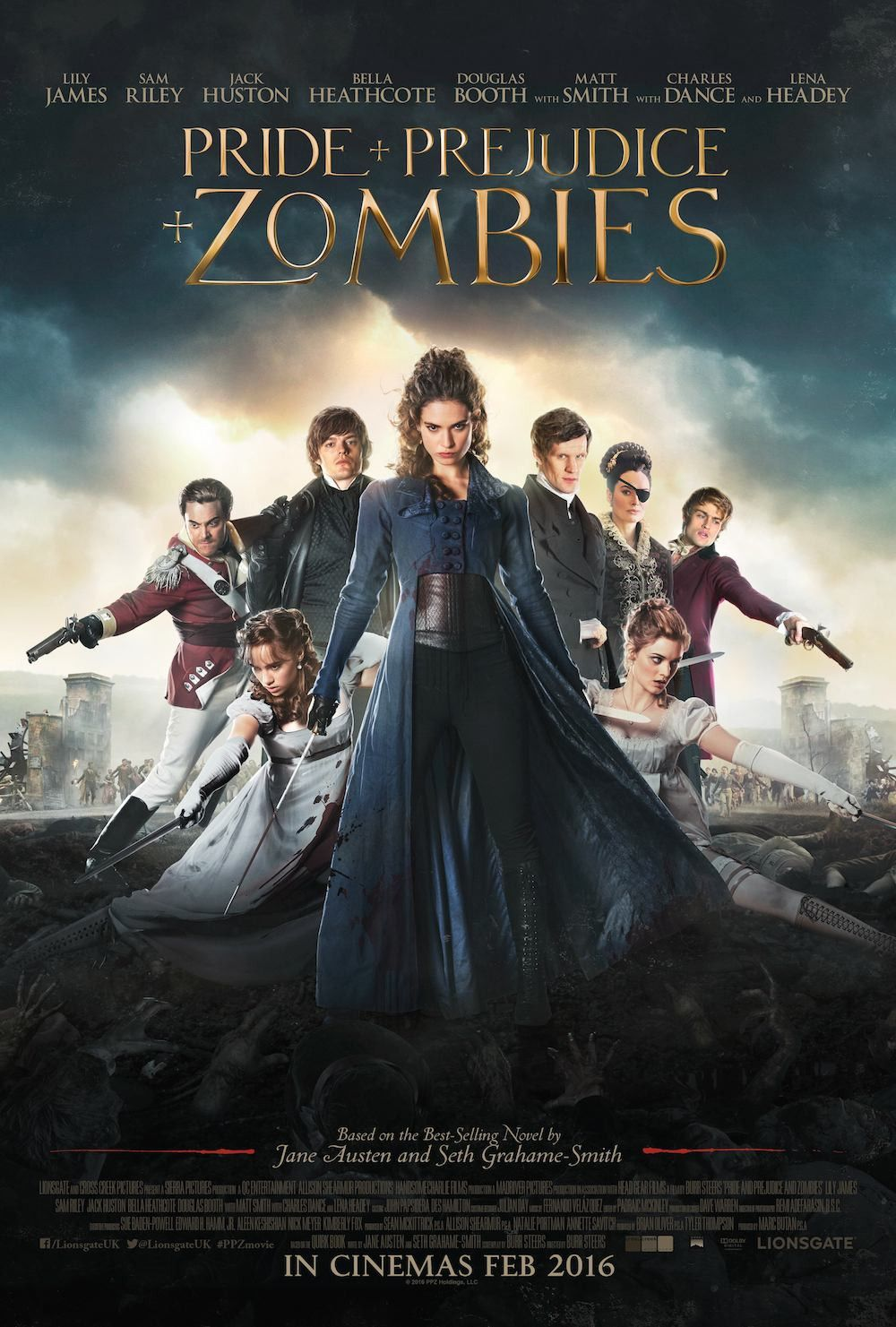 Pride And Prejudice And Zombies I Would Watch This Just Because Matt