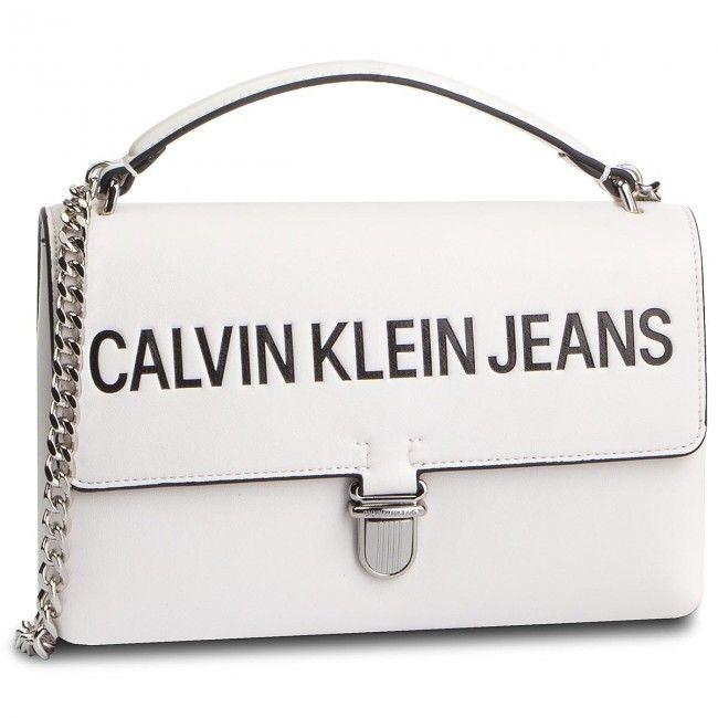8206f13b61 Τσάντα CALVIN KLEIN JEANS - Sculpted Logo Ew Flap K60K605252 102 ...