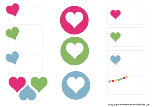Etiquetas de San Valentín para imprimir | Manualidades Fáciles ...