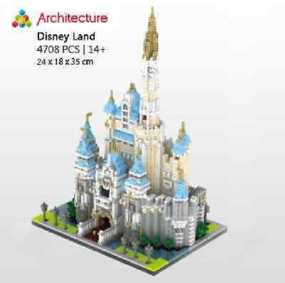 USA Capitol Architecture Building Blocks Model Nano Bricks Assembling Toys