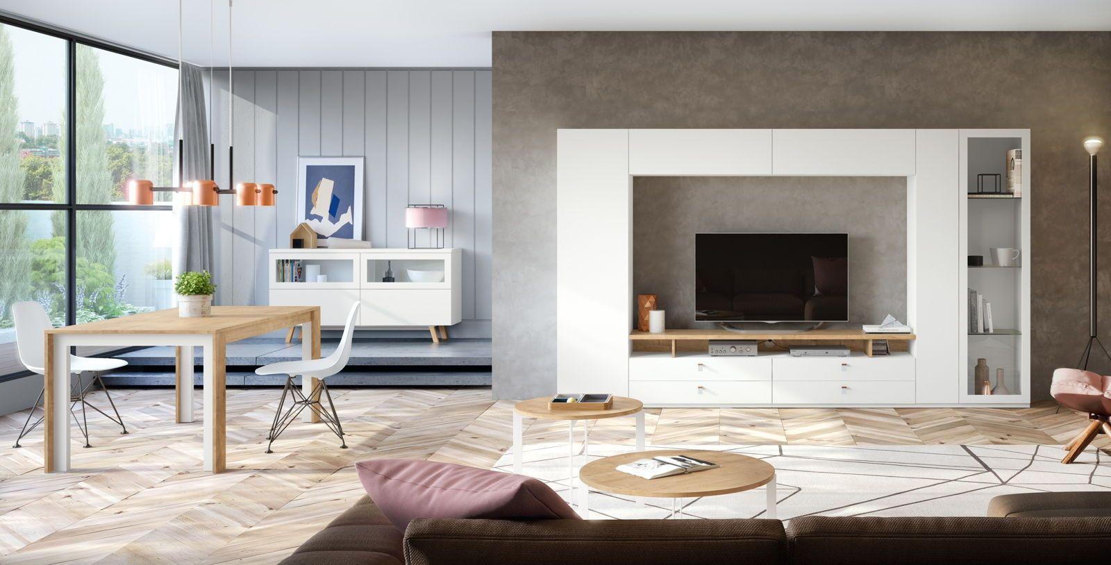 Decorar salones modernos  Salones modernos diseño, Muebles de