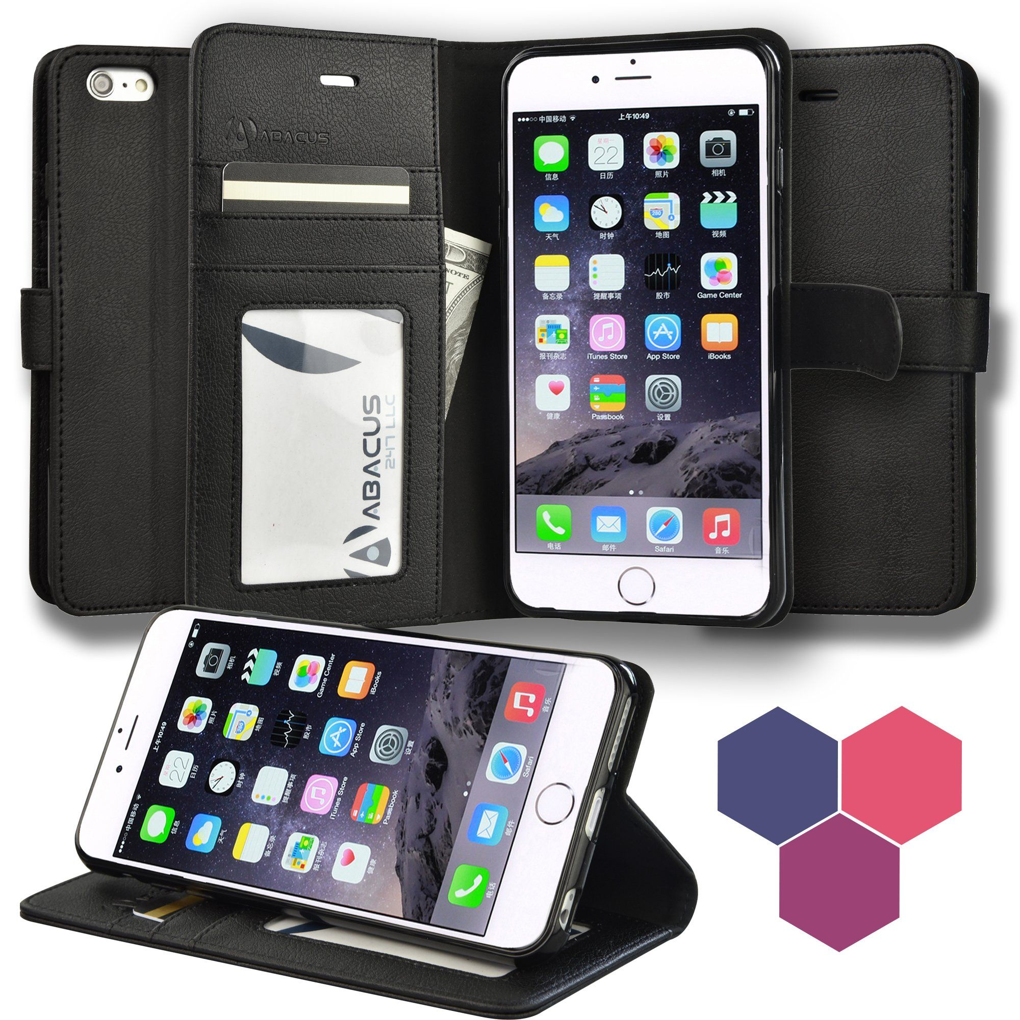 iphone 6s wallet case leather
