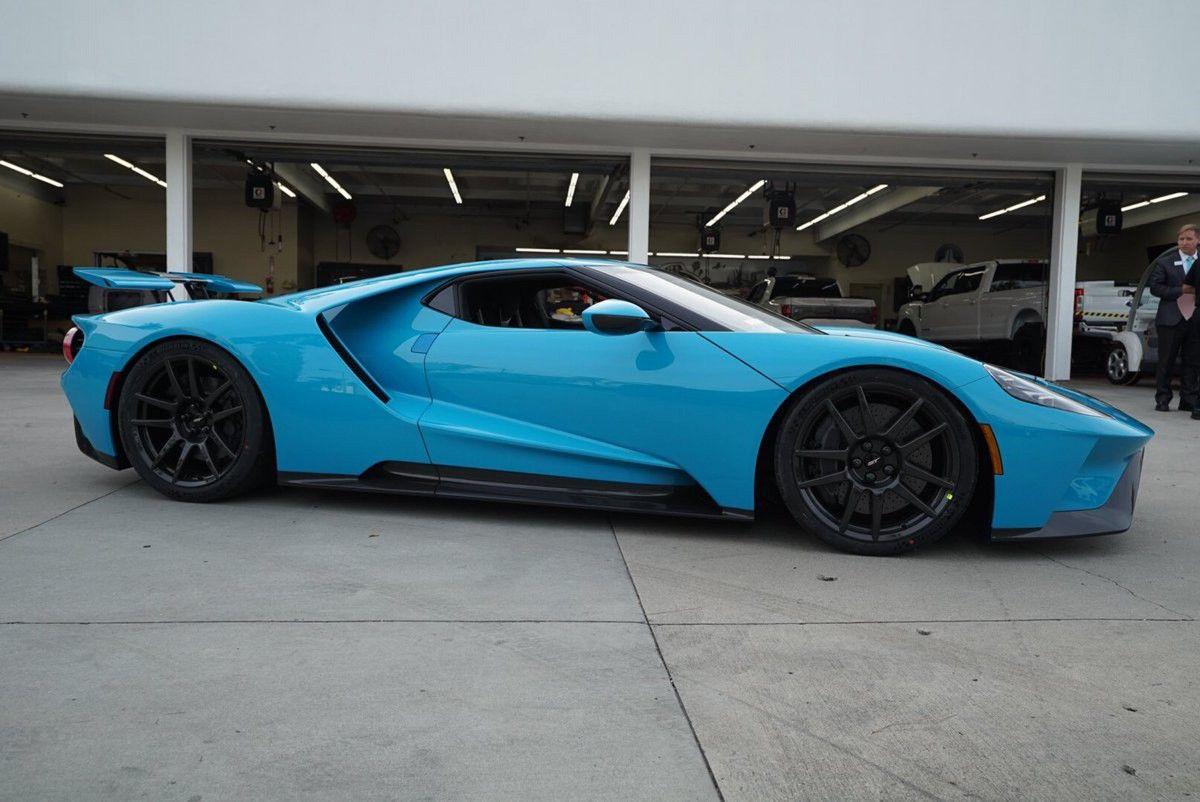 Ford Gt Miami Blue