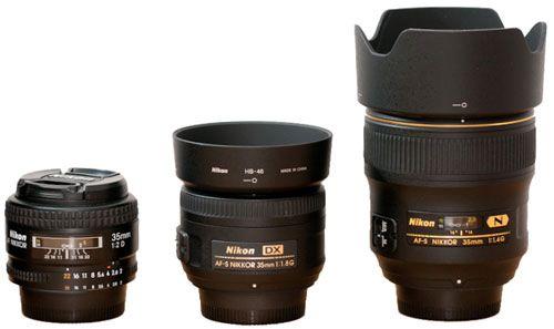 Nikon Nikkor 35mm Lens Comparison 35mm F1 4g Vs 35mm F2 0d Vs Dx 35mm F1 8g Cameralabs 35mm Lens Nikon Lenses Nikon Dx