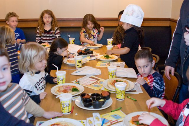 Pizza Party for kids- California Pizza Kitchen | Party Venues for ...