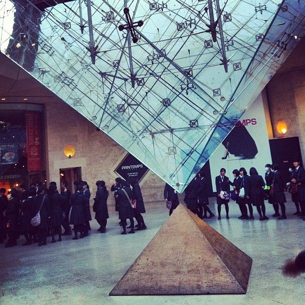 Entry to the Musée du Louvre