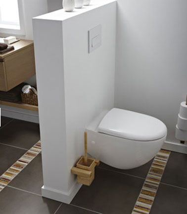 d co wc design avec une cuvette wc suspendu toilettes wc pinterest salle de bain salle. Black Bedroom Furniture Sets. Home Design Ideas