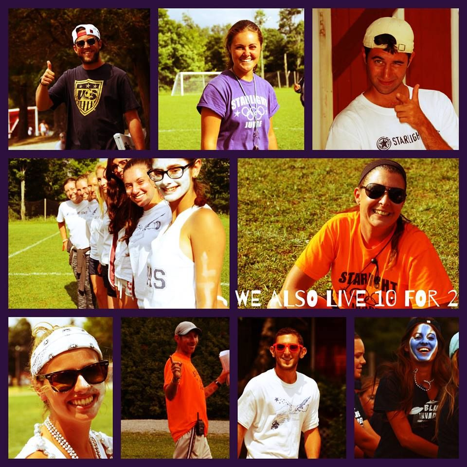 Our Staff Members Also Live 10 For 2 Camp Counselor 10 Things Baseball Cards