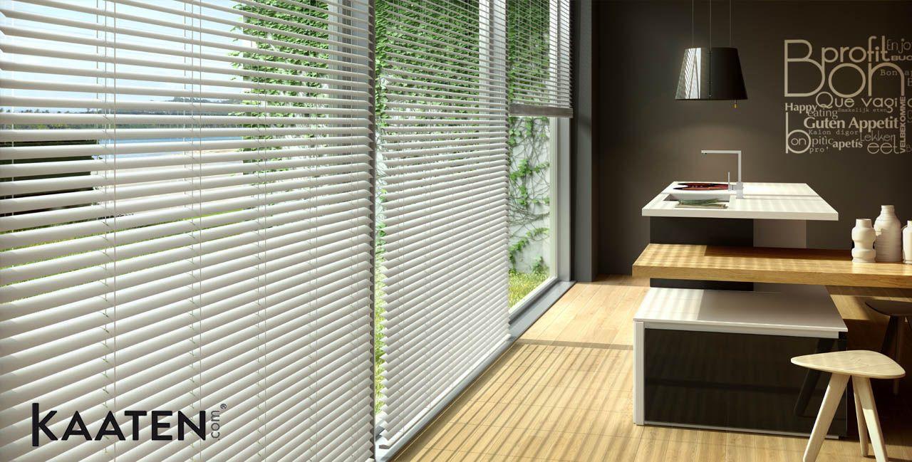 Descubre las venecianas de aluminio de Kateen ® . Encuentra la cortina que mejor se adapta a tus necesidades en www.kateen.com