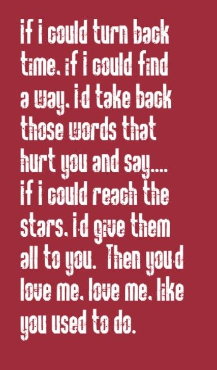Cher If I Could Turn Back Time Song Lyrics Song Quotes Songs