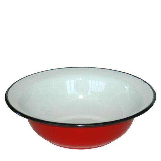 De Emaillekeizer - Amsterdam  kleur: rood 36cm €12,50