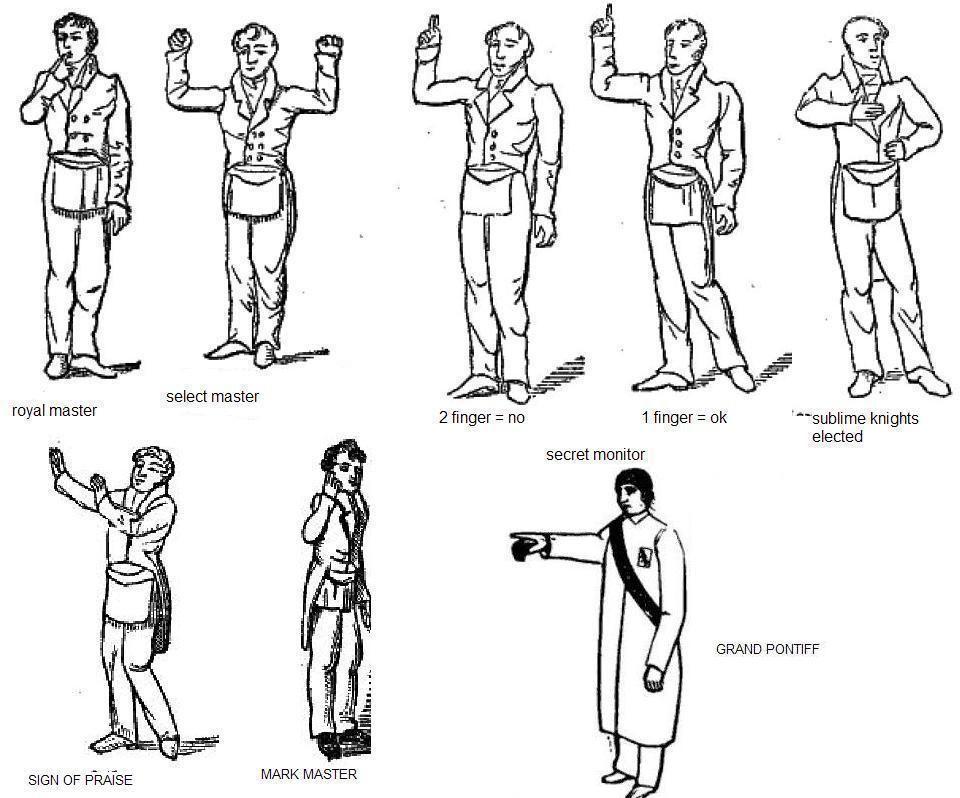 Masonic Signs Truth Seekernspiracy Theorist Im Awoke