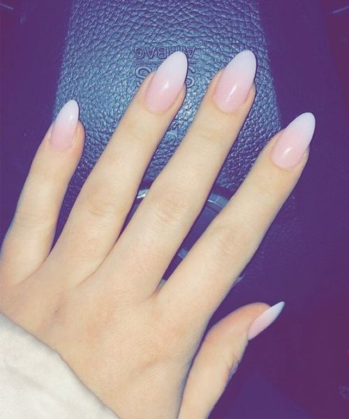 incredible pink ombre nail design 2017 2018 for prom. Black Bedroom Furniture Sets. Home Design Ideas