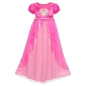 NEW Pink Disney Princess Aurora Girls Pajama//PJ Sleep Night Shirt Gown XXS XS L