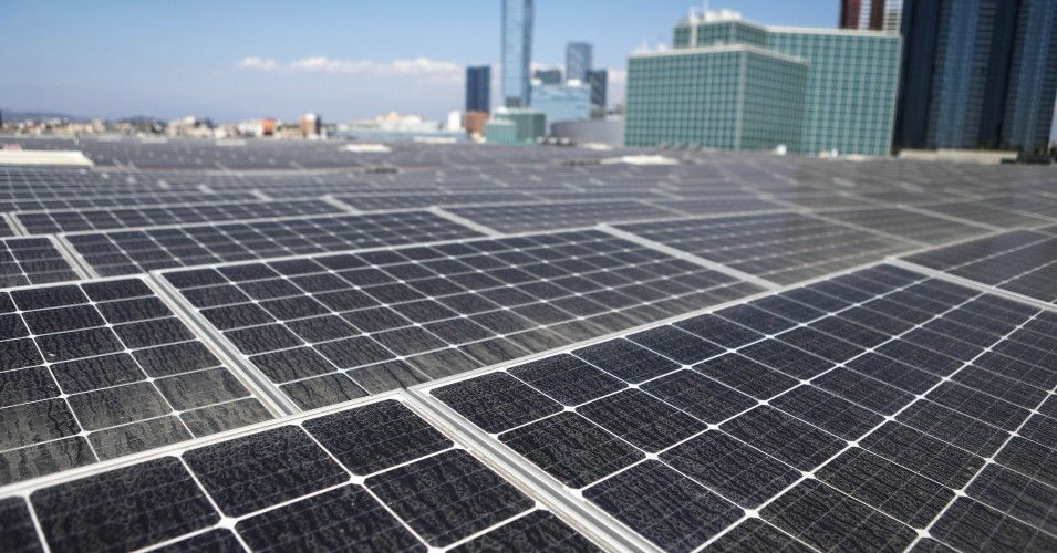 Amid Demands California Goes Beyond Climate Capitalism Gov Brown Signs 100 Renewables By 2045 Into Law Solar Solar Panels Best Solar Panels