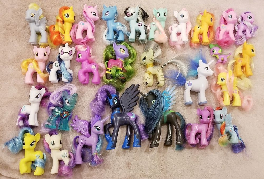 b78fc1fb636 RARE MLP G4 BRUSHABLE LOOSE LOT  My Little Pony Friendship Is Magic   MyLittlePony  Gifts  Collectibles