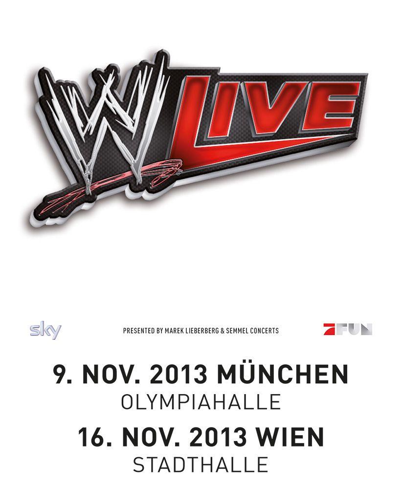 WWE - LIVE - Vereint die Stars von Smackdown und Raw - Tickets unter: www.semmel.de