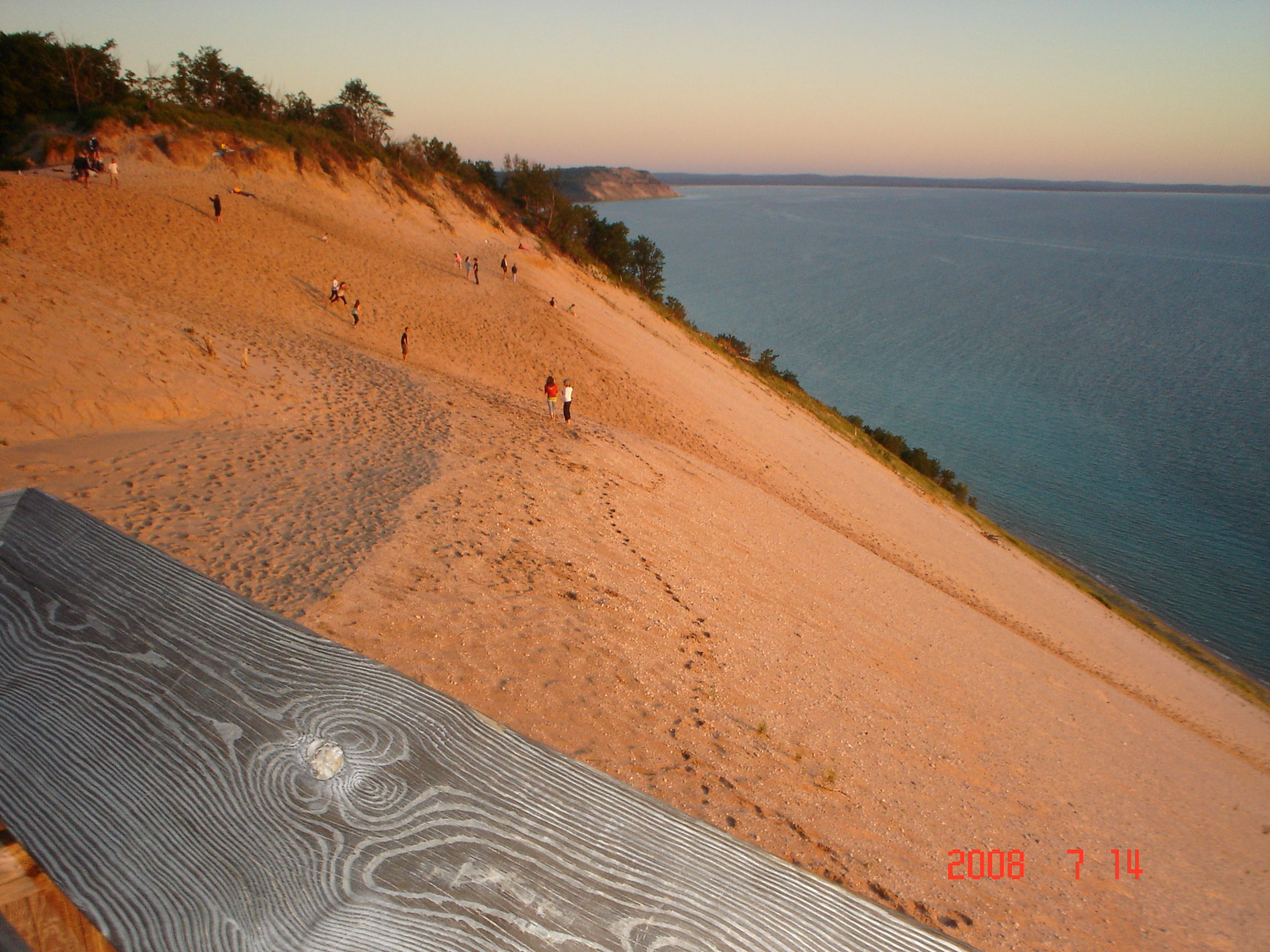 Beautiful Lookout In Sleeping Bear Dunes In Northern Michigan Near Traverse City Mi Gorgeous Views Sleeping Bear Sand Dunes Sleeping Bear Dunes Road Trip Usa