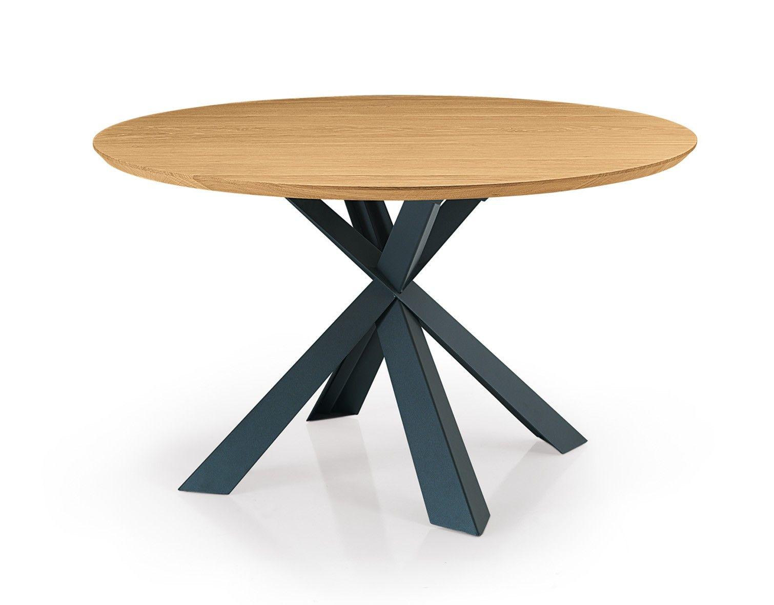 Montana Tisch Rund Runder Esstisch Eiche Esstisch Modern Und