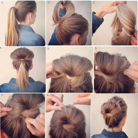 Pin By Mikayla R On Hair Nurse Hairstyles Hair Styles Bun Hairstyles