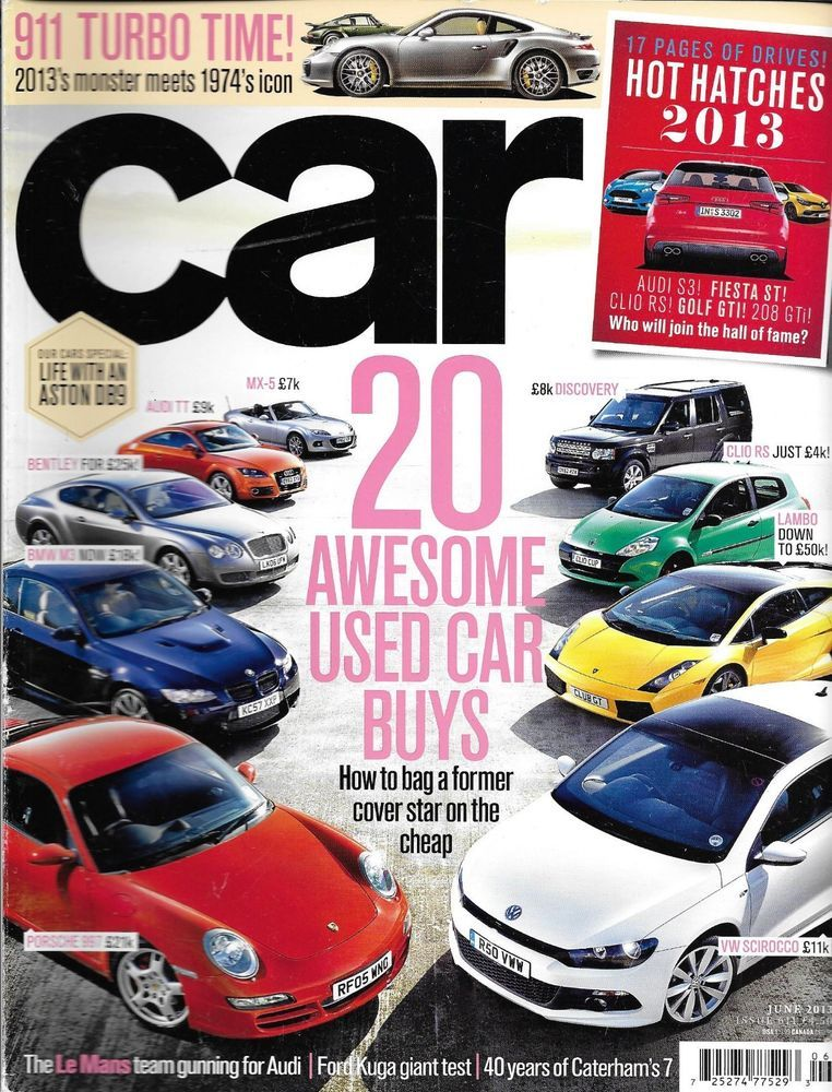 Car auto magazine Best used cars BMW Audi Porsche Bentley VW Ford ...