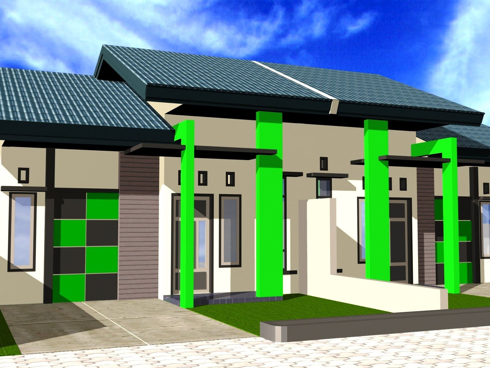 Download Desain Rumah Type 36 dalam Ukuran Asli di atas ...