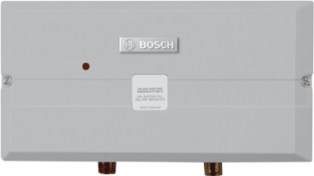 Bosch Tronic 3000 Point Of Use Electric Tankless Water Heaters Efficient Home Heating Products Tankless Water Heater Water Heater Heater