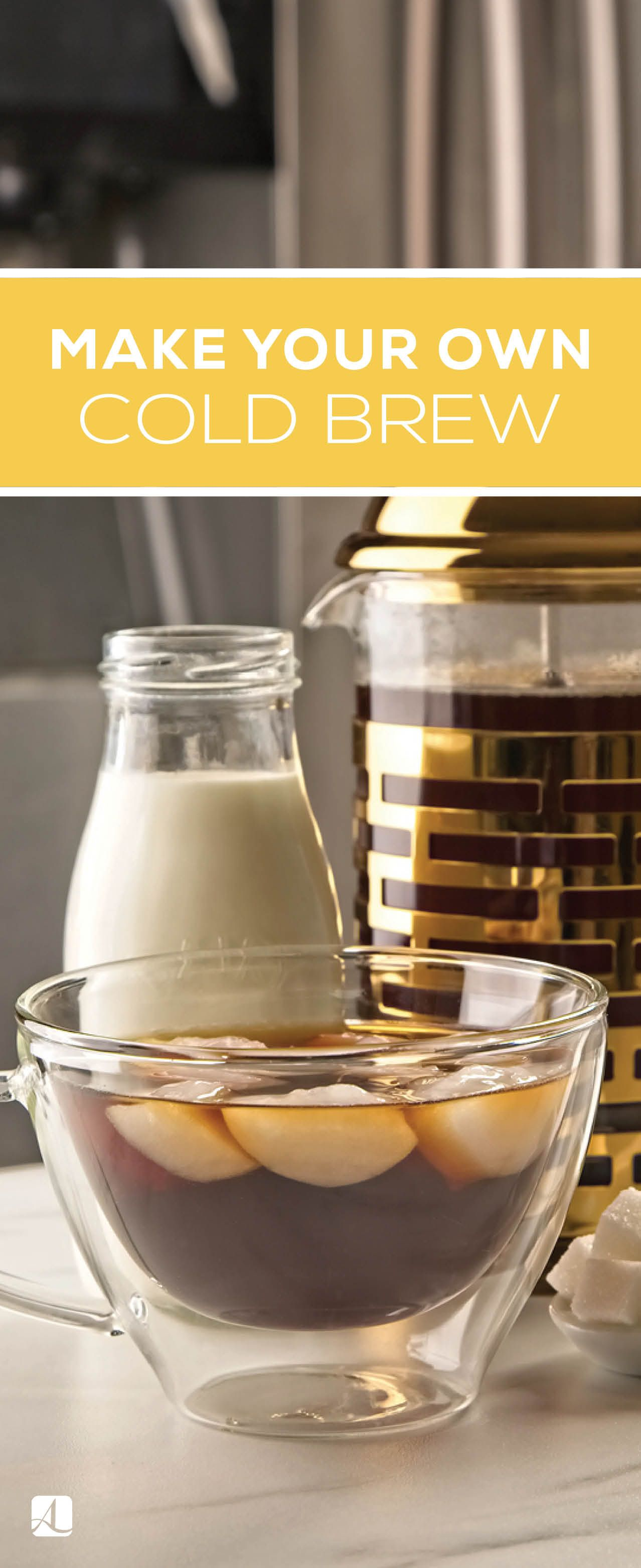 Be your own barista homemade cold brew coffee american