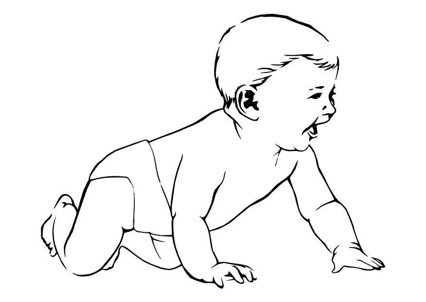 Baby Crawling | Human Body Preschool Unit | Pinterest | Body preschool