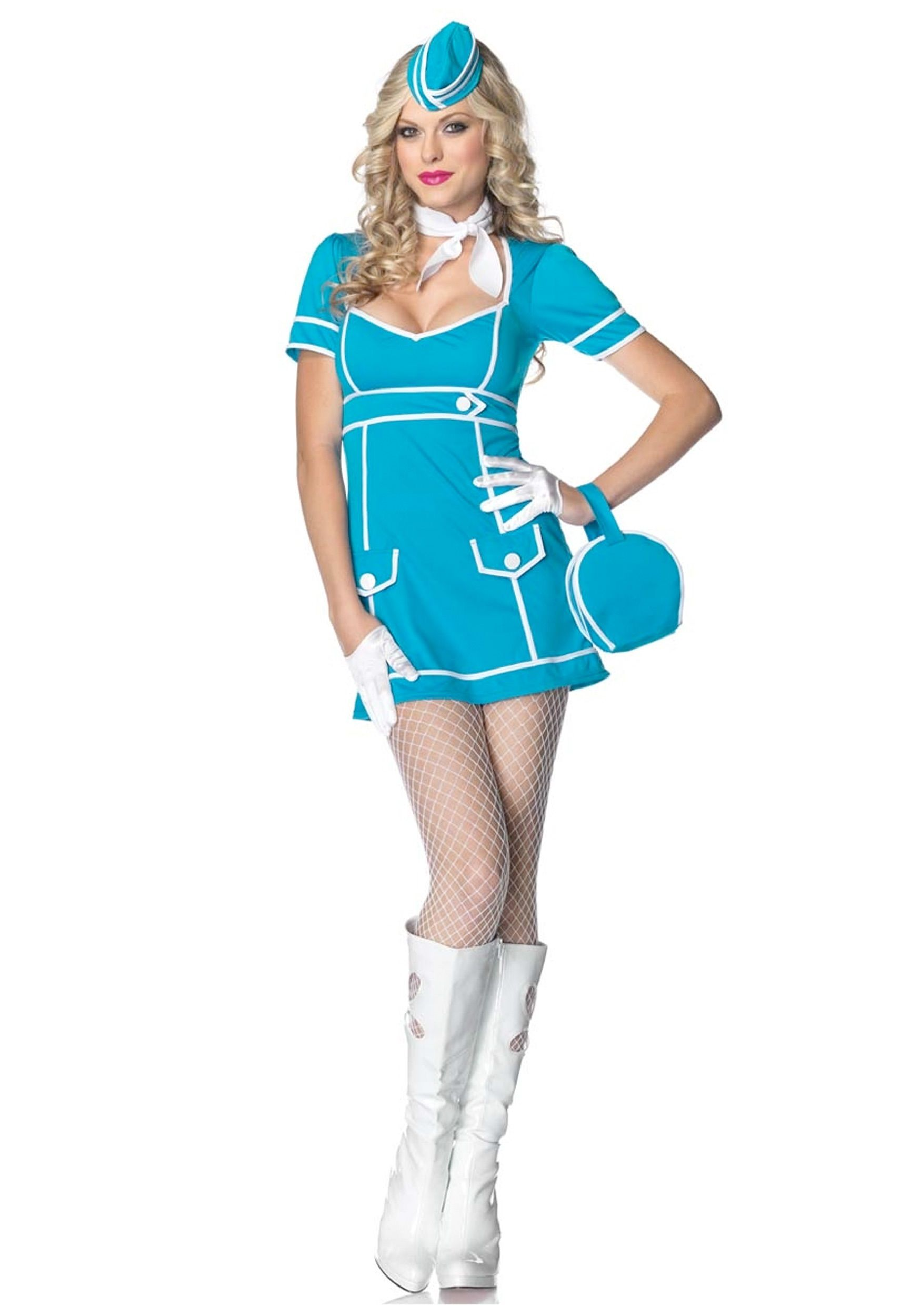 classic-flight-attendant-costume.jpg (1750×2500) | Fly the friendly ...