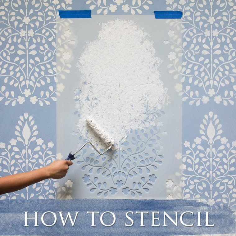 Stencil Trendy Patterns On Your Walls And Furniture For A Fraction Of The  Cost Of Wallpaper! Designer Quality Design Stencils For Colorful DIY Home  Decor.