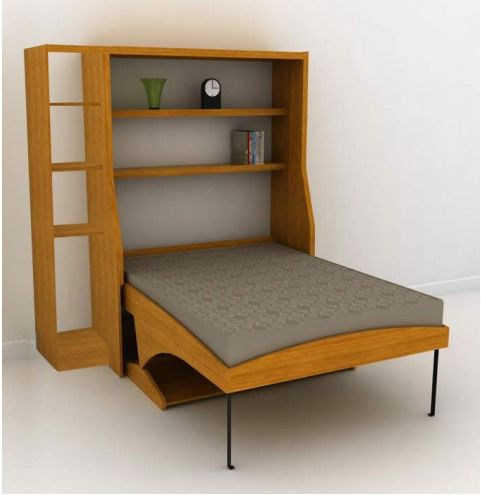 This Hiddenbed By Bredabeds Is 1 995 And Converts From A Desk To Bed Without Having