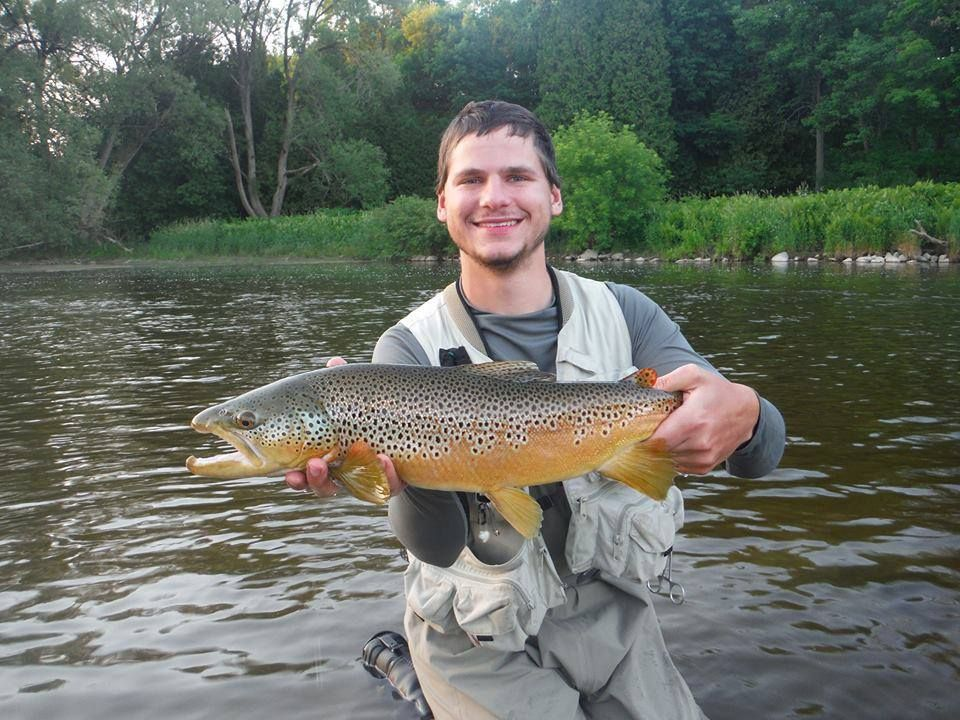 Jeremy bochenek from hamilton ontario sent in this grand for Grand river fishing
