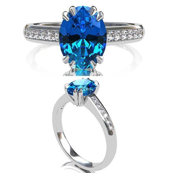 20+ Ide Cincin Berlian Model Cincin Emas Batu Permata Untuk Wanita