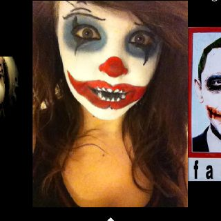 pinmari berwick on halloween 🎃  scary clown makeup
