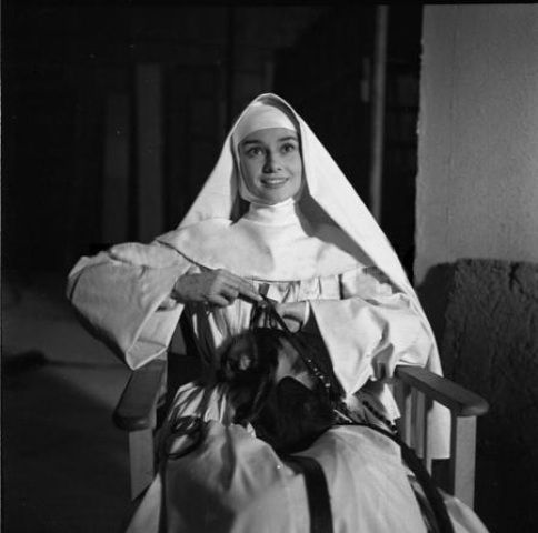 Set de The Nun's Story, 1958