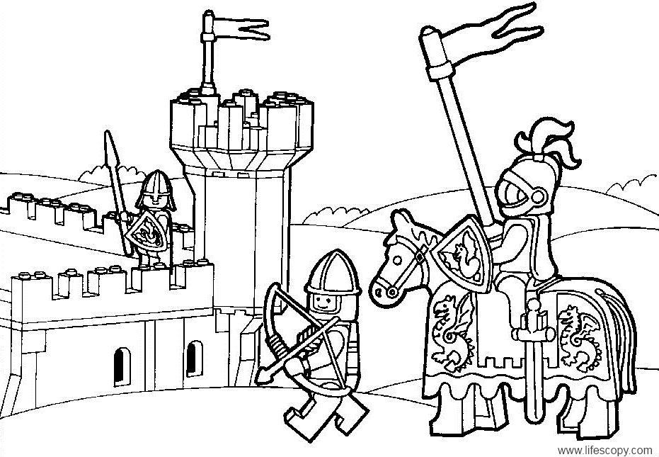 Az colorear miles de dibujos para colorear gratis! ni�os LEGO Knights Coloring Pages Legends of Chima Coloring Pages LEGO Chima Coloring Pages to Print