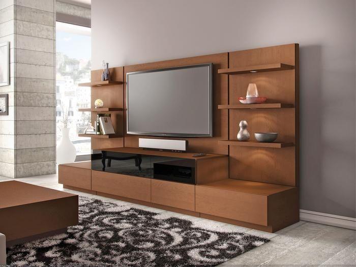 Contemporary Entertainment Center Home Decor Pinterest Muebles Para Pantallas Muebles Para Tv Muebles Para Casa