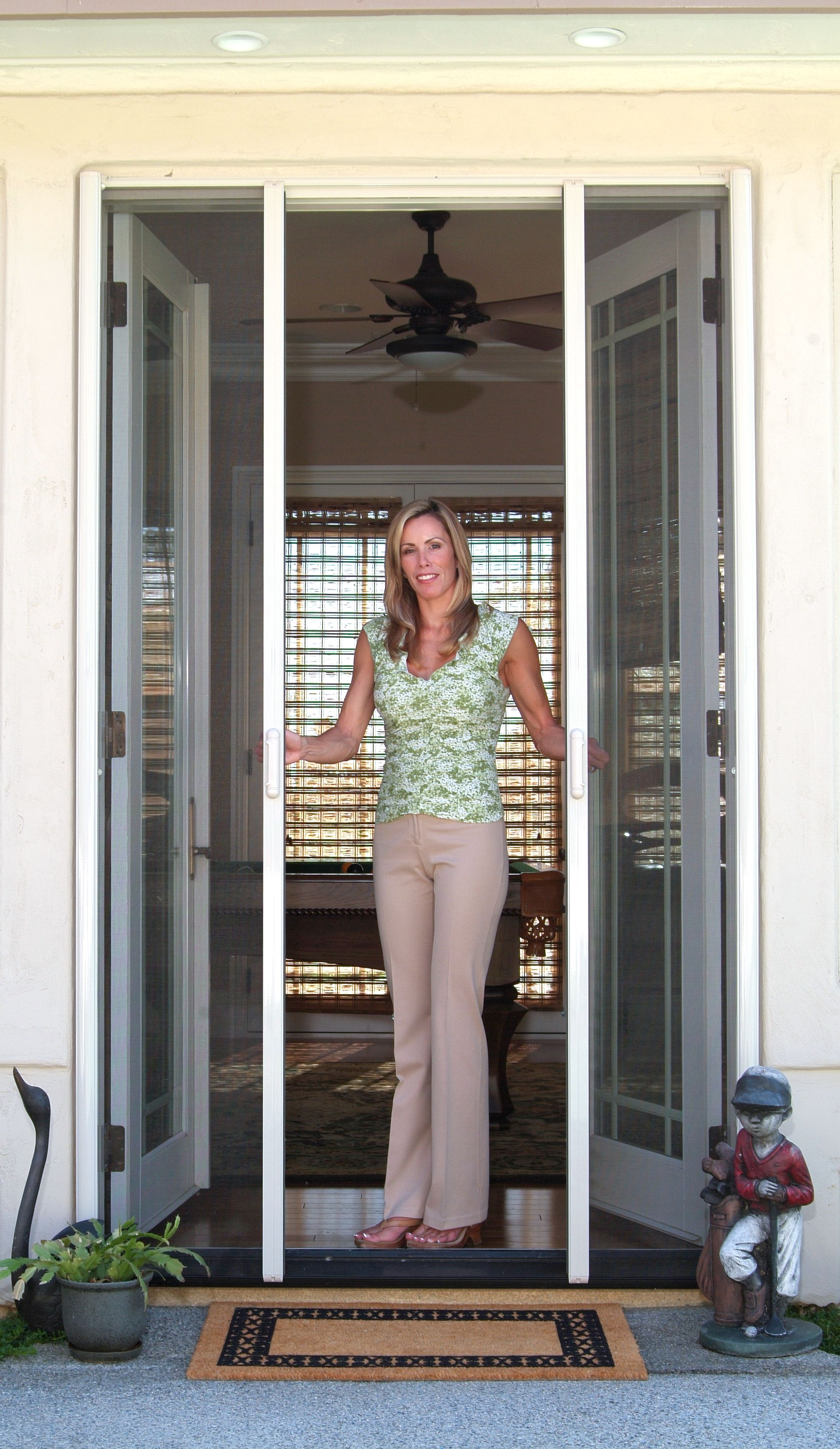 Retractable Screen Door Reviews Outdoor Home Ideas Pinterest