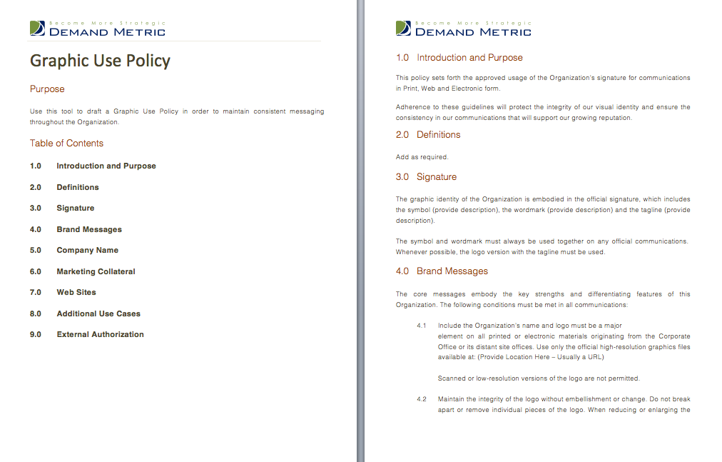 Privacy Policy Template  A Template To Assist You With Crafting A