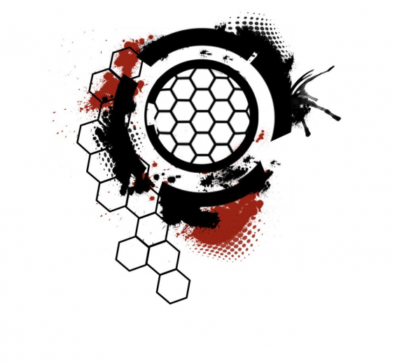 Images For > Geometric Hexagon Tattoo