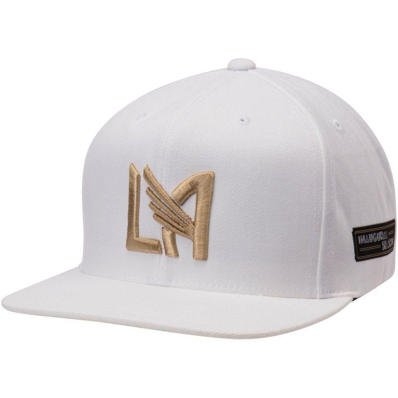 a2183db04a1 LAFC Inaugural Season Adjustable Snapback Hat – White
