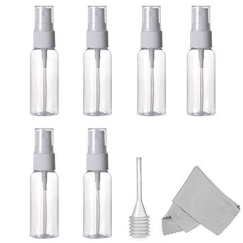 Spray Bottle Empty Plastic Clear Small Travel Bottles Wi Https Www Amazon Com Dp B01do3rwx2 Ref Cm Sw R P Fine Mist Sprayer Spray Bottle Clean Microfiber