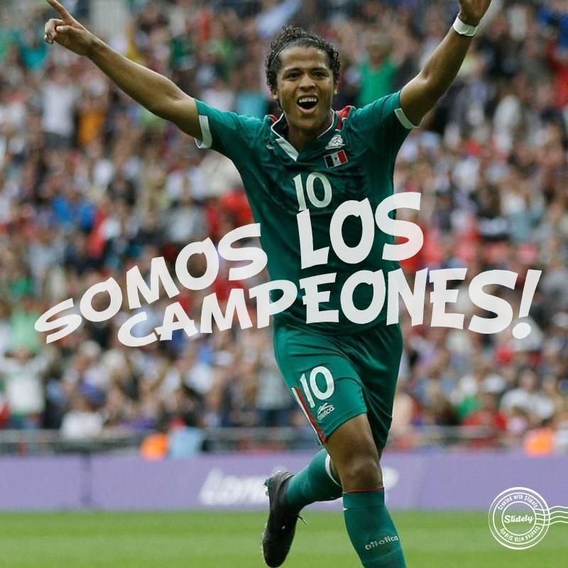 Will Giovani dos Santos score for Mexico today? Place your bets Brazil vs Mexico!  slides.ly/WorldCupFun