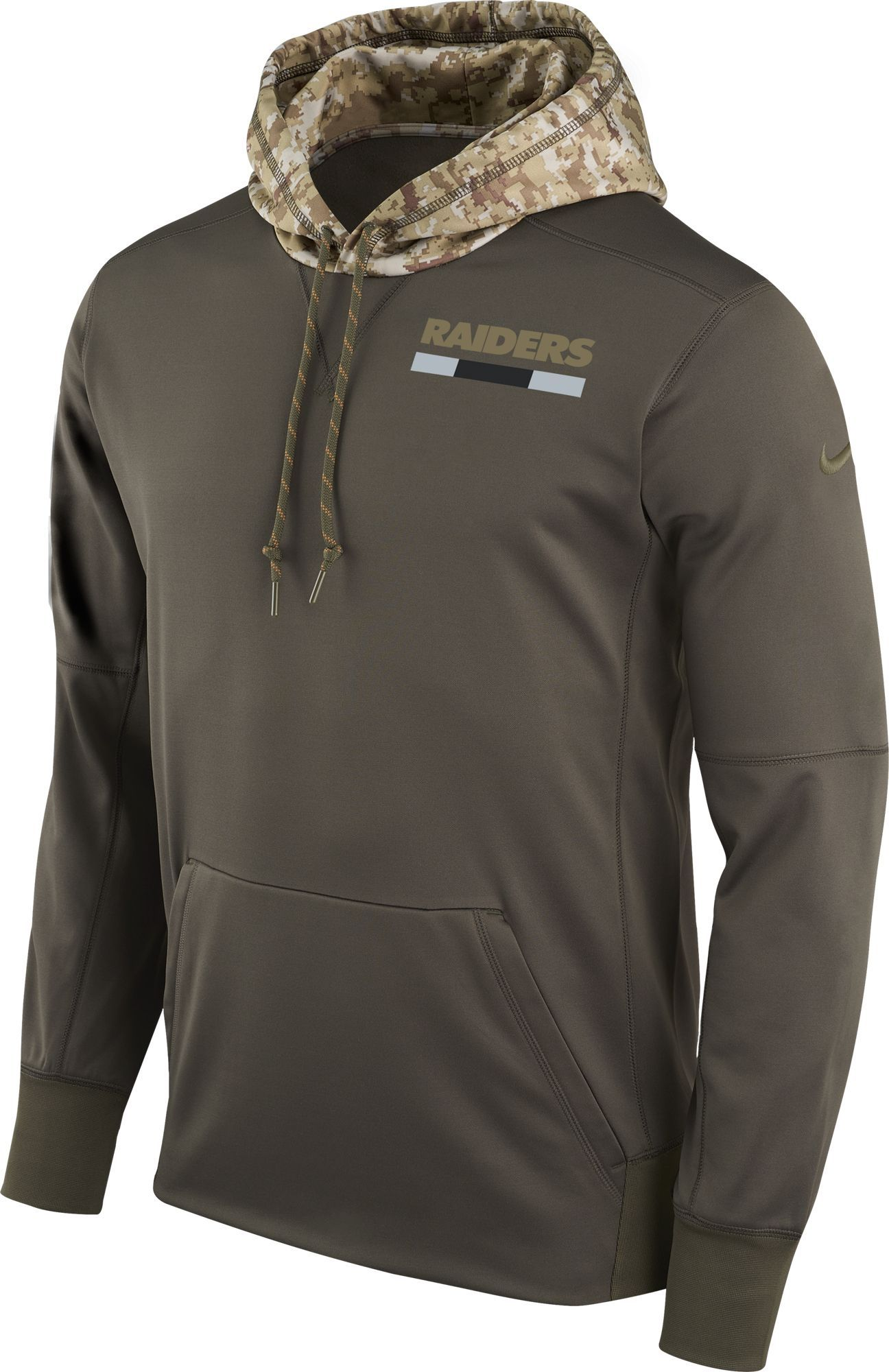 spesso Men's Oakland Salute to Service 2017 Therma-FIT Performance Hoodie VP64