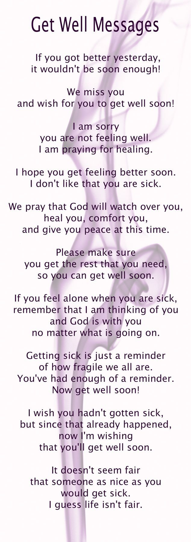 Fullsize Of Get Well Messages