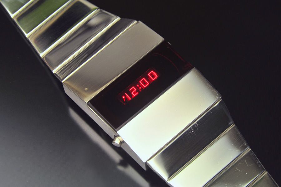 Novus Led With Images Retro Watches Vintage Watches Cool Watches