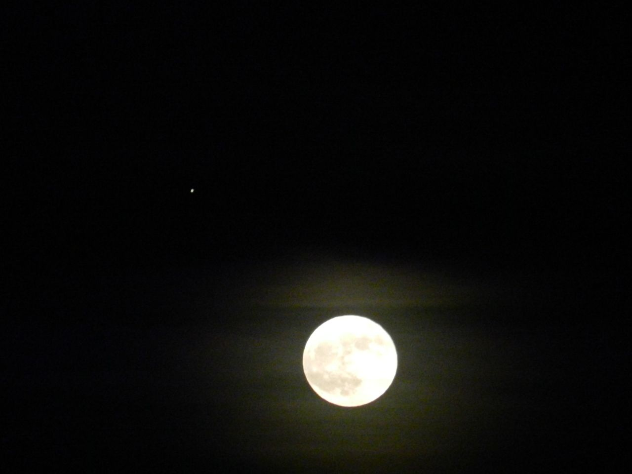 November Full Moon 2012----(with a Halo)!!!!!!!