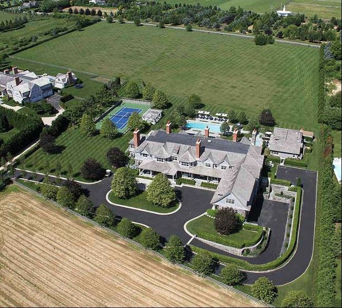 Greenwich Ct Luxury Mansions: Sandcastle, Bridgehampton, New York