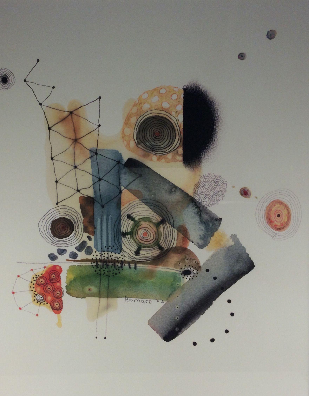 Homare Ikeda Watercolor Paintings Painting Watercolor Paintings